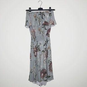 Chaser strapless dress